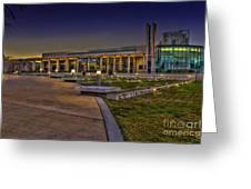 The Mahaffey Theater Greeting Card by Marvin Spates