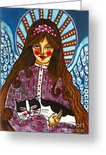 The Manolo Dream Greeting Card by Iwona Fafara-Pilch