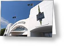 The Mansell Collection - Art Deco Building Greeting Card by Gill Billington