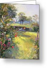 The Morning Letter Greeting Card by Timothy  Easton
