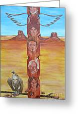 The Native Rockband Greeting Card by Jeepee Aero