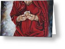 The New Covenant Greeting Card by Ilse Kleyn