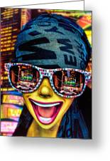 The New York City Tourist Greeting Card by Chris Lord