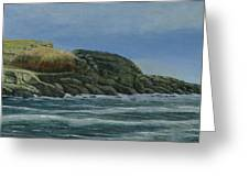 The Nubble Greeting Card by Nan McCarthy