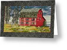 The Old Barn Greeting Card by Jo Baner