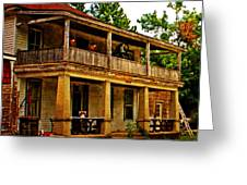 The Old Boarding House Greeting Card by Marty Koch