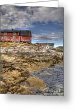 The Old Fisherman's Hut Greeting Card by Heiko Koehrer-Wagner