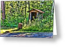 The Old Shed Greeting Card by Cathy  Beharriell