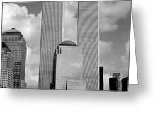 The Old WTC Greeting Card by Joann Vitali