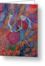 The Overcoming Worshipper Greeting Card by Cassandra Donnelly