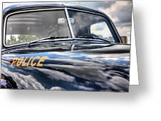 The Paddy Wagon Greeting Card by JC Findley