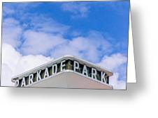 The Parkade  Greeting Card by Daniel Baumer