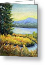 The Passage Greeting Card by Arlene Baller