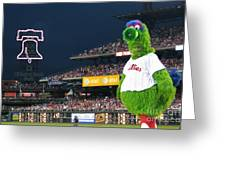 The Phanatic Greeting Card by Geoff Crego
