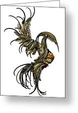The Phoenix Greeting Card by Cara Bevan