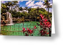 The Place To Relax Greeting Card by Zina Stromberg
