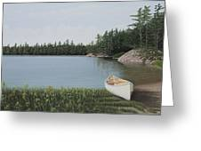 The Portage Greeting Card by Kenneth M  Kirsch