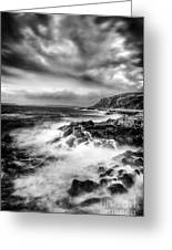 The Power Of Nature Greeting Card by John Farnan