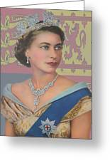 The Queen Greeting Card by Roy  McPeak