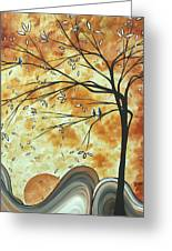 The Resting Place By Madart Greeting Card by Megan Duncanson