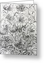The Rise Of The Tiger Lilies Greeting Card by Phong Trinh