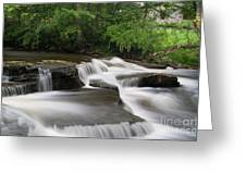 The River Greeting Card by Ron Pettitt