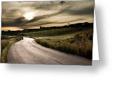 The Road Greeting Card by Boon Mee