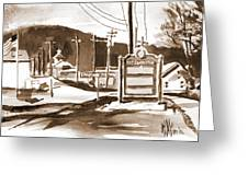 The Road To Farmington Pilot Knob Missouri Greeting Card by Kip DeVore