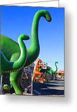 The Rock Shop Just Off Route 66 Greeting Card by Mike McGlothlen
