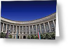 The Ronald Reagan Building And International Trade Center Greeting Card by Tom Gari Gallery-Three-Photography