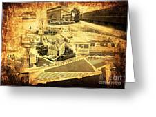 The Scenic City Greeting Card by Joe A