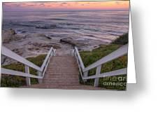 The Sea Is Calling Greeting Card by Eddie Yerkish