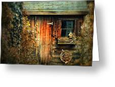 The Shed Greeting Card by Jessica Jenney