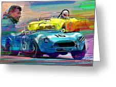 The Shelby Legacy Greeting Card by David Lloyd Glover