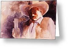 The Sheriff Greeting Card by John  Svenson