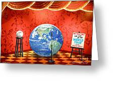 The Show Must Go On Greeting Card by Cristophers Dream Artistry