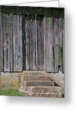 The Side Door Greeting Card by Skip Willits