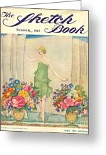 The Sketch Book 1925 1920s Uk Womens Greeting Card by The Advertising Archives