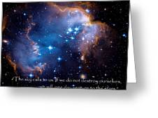 The Sky  Greeting Card by Bill  Wakeley