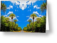 The Sky Has Eyes Greeting Card by Scott Harms