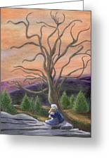 The Solace Tree Greeting Card by Catherine Howard