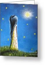 The Sound Of Light By Shawna Erback Greeting Card by Shawna Erback