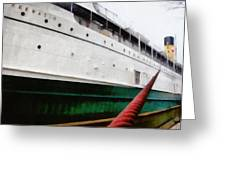 The S.s. Keewatin Greeting Card by Michelle Calkins
