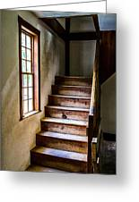 The Stairs Greeting Card by Karol Livote