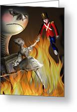 The Steadfast Tin Soldier ...the Envy... Greeting Card by Alessandro Della Pietra