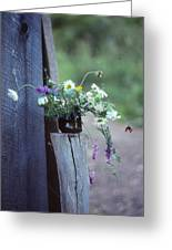 The Still Life Of Wild Flowers Greeting Card by Patricia Keller