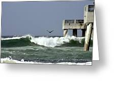 The Storm  Greeting Card by Debra Forand