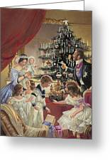 The Story Of The Christmas Tree Greeting Card by C L Doughty