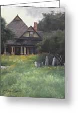 The Sullivan House Greeting Card by Anna Rose Bain