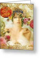 The Summer Queen Greeting Card by Aimee Stewart
